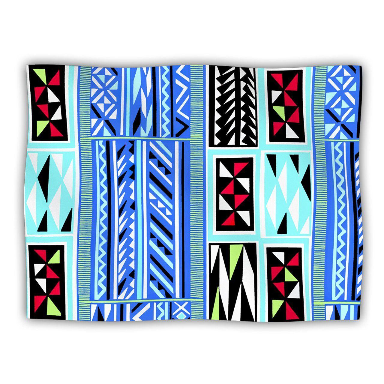 Kess InHouse Vikki Salmela 'American Blanket Pattern' Pet Blanket, 60 by 50-Inch   : Cats items