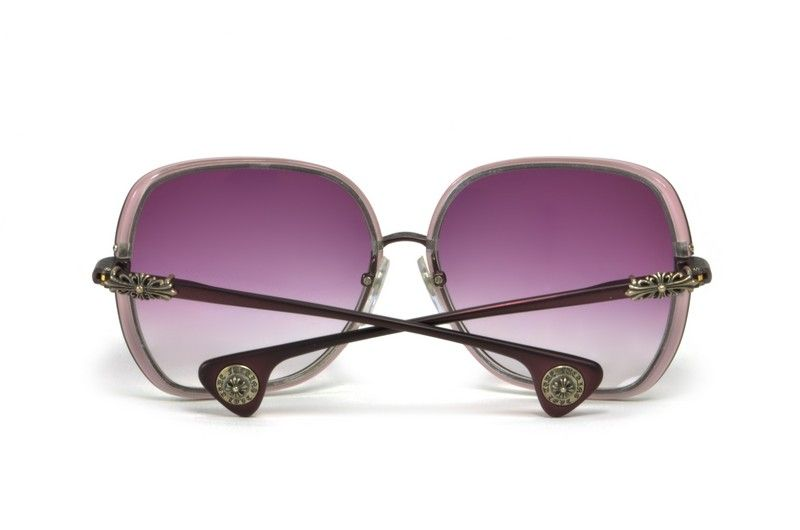 31b14dbb2ea Chrome Hearts Splooge sunglasses made in Japan. A large wrap-around women s  titanium frame