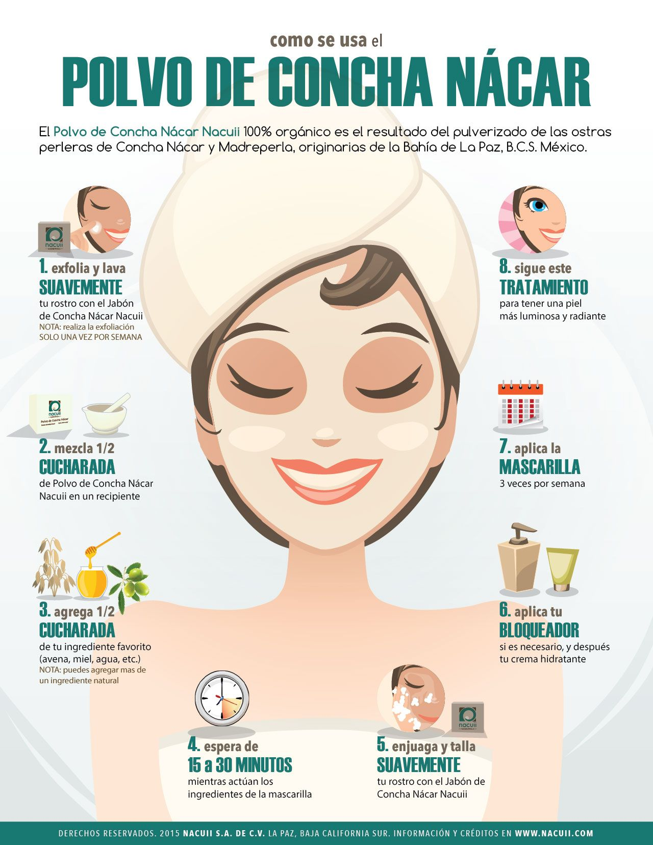Beneficios de echarse miel en la cara
