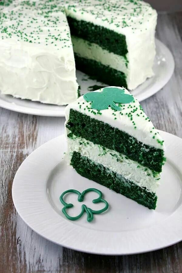 Green Velvet Cheesecake