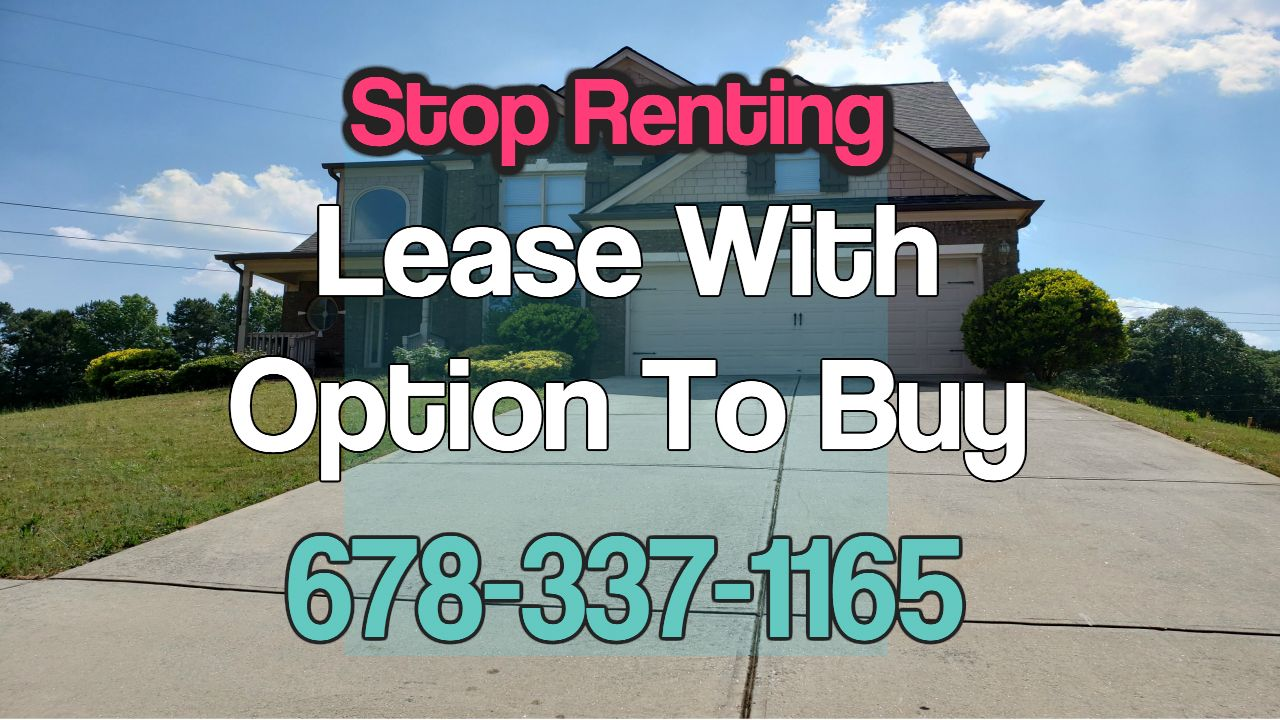Rent To Own Homes Near Me Lawrenceville Ga Rent To Own Homes Rent Own Home