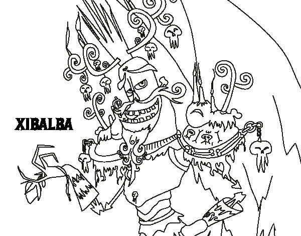 The Book Of Life Coloring Pages 6