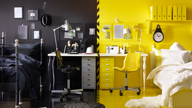 Conseils pour un bureau chic et efficace couleurs