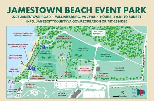 Jamestown Beach Event Park To Reopen For Memorial Day Weekend Williamsburg Yorktown Daily Beach Events Park Jamestown
