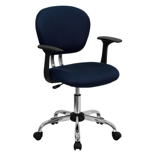 flash furniture low back office chair with arms reviews wayfair
