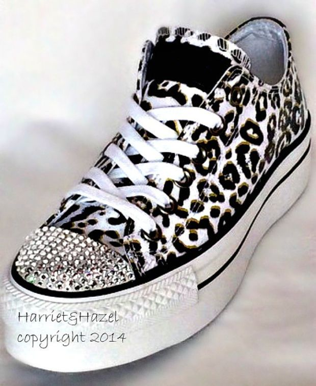 Converse Chuck Taylor® All Star® Platform in Cheetah print with Swarovski  crystal details 16a968cd9