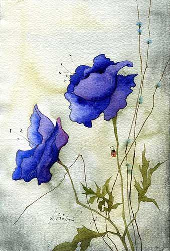 ледяные цветы (Виктория Кирдий)