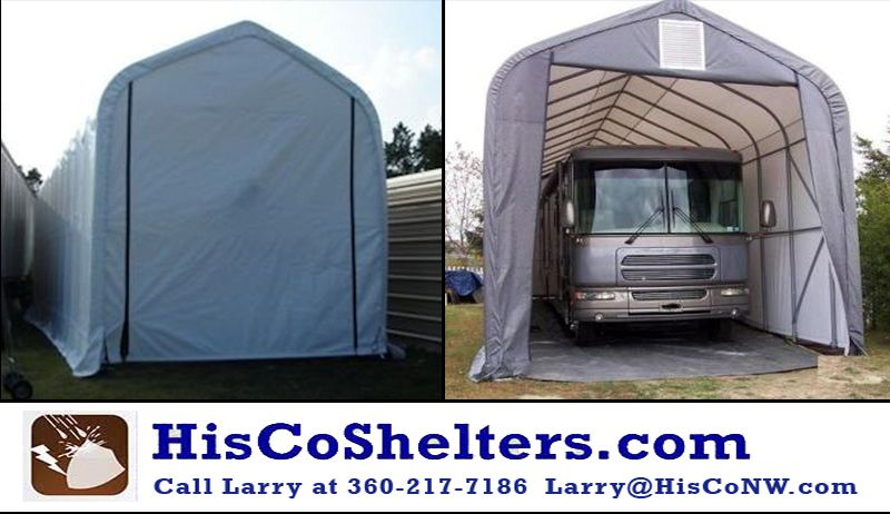 Shelter Logic Portable RV Garage Kit 15 Wide And 12 Or