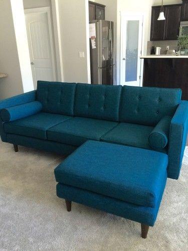 Joybird Korver Ottoman Braxton Sofa From Beau B Sofas Sofa