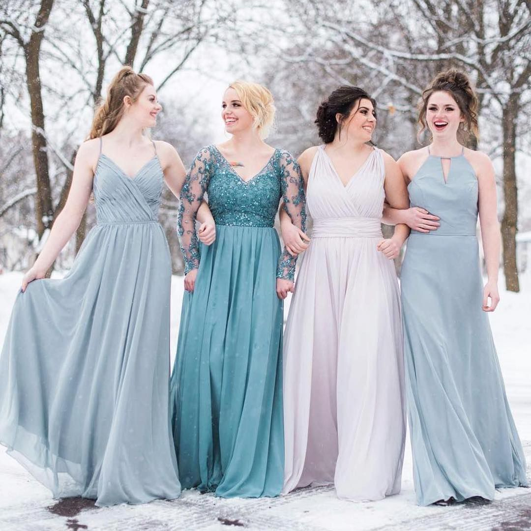 The #perfect palette for a winter wedding ❄ ✨ #Morilee ...