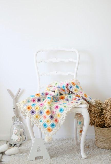 """""""di cuore"""": °*° Tutorial Granny Square: come fare la coperta d..."""