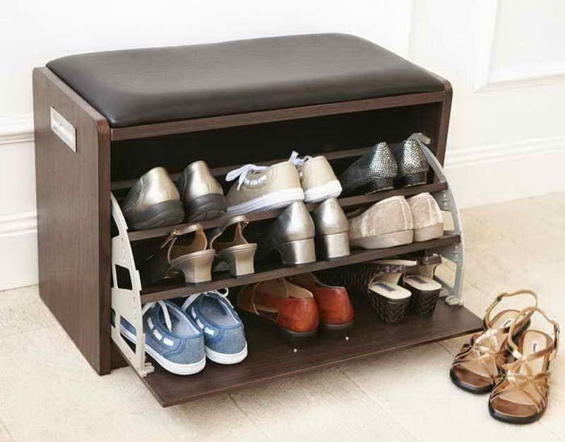 Modern Shoe Rack Design