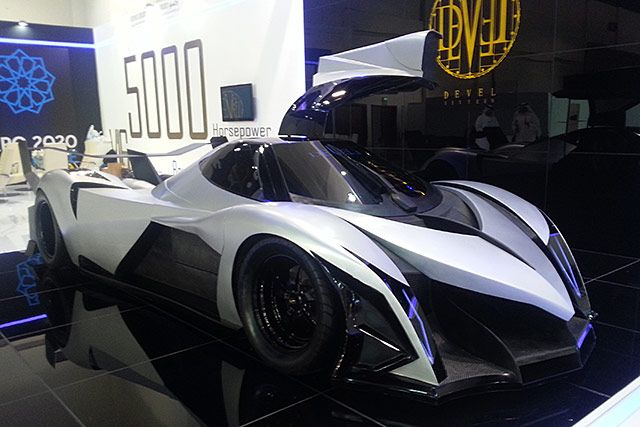 devel sixteen cv 16 cilindri velocit max 500 km. Black Bedroom Furniture Sets. Home Design Ideas