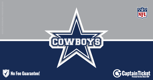 a0fa2ac4b Find the best selection of guaranteed authentic Dallas Cowboys tickets cheap,  fast, and easy at Captain Ticket™ - the original no fee ticket ...