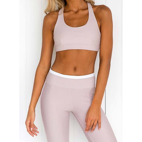 Women's Athletic Casual Sporty Polyester Yoga Clothing Suit Fitness & Yoga #women's #athletic #casua...