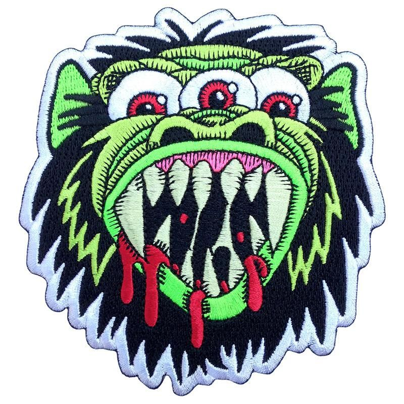 Green Mutant Kong Patch Embroidered patches, Patches