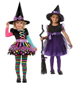 Witch Halloween costumes for kids - http://www.wons.co.uk/party ...
