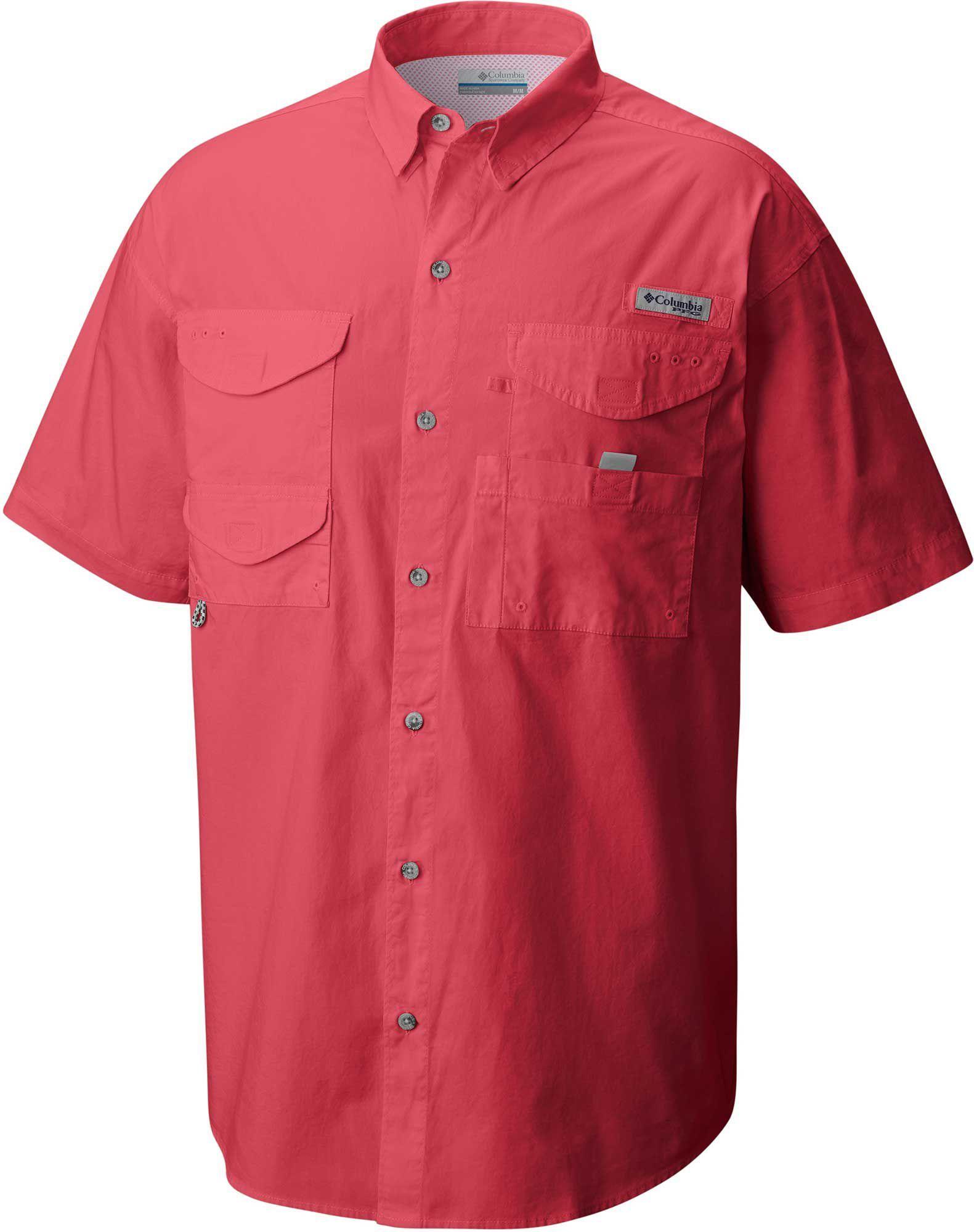 25fc736a6a7 Columbia Men's PFG Bonehead Short Sleeve Shirt, Size: Small, Black ...