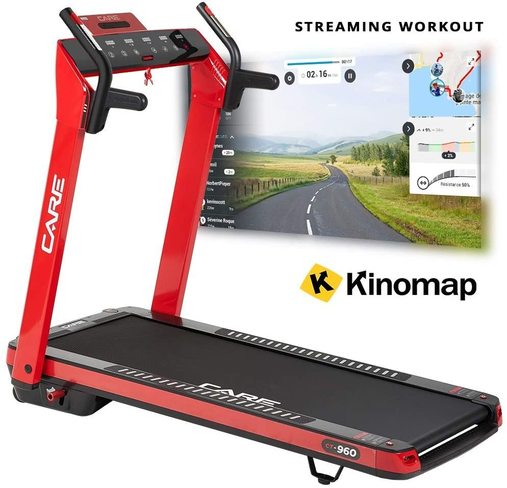 care fitness tapis de course motorise
