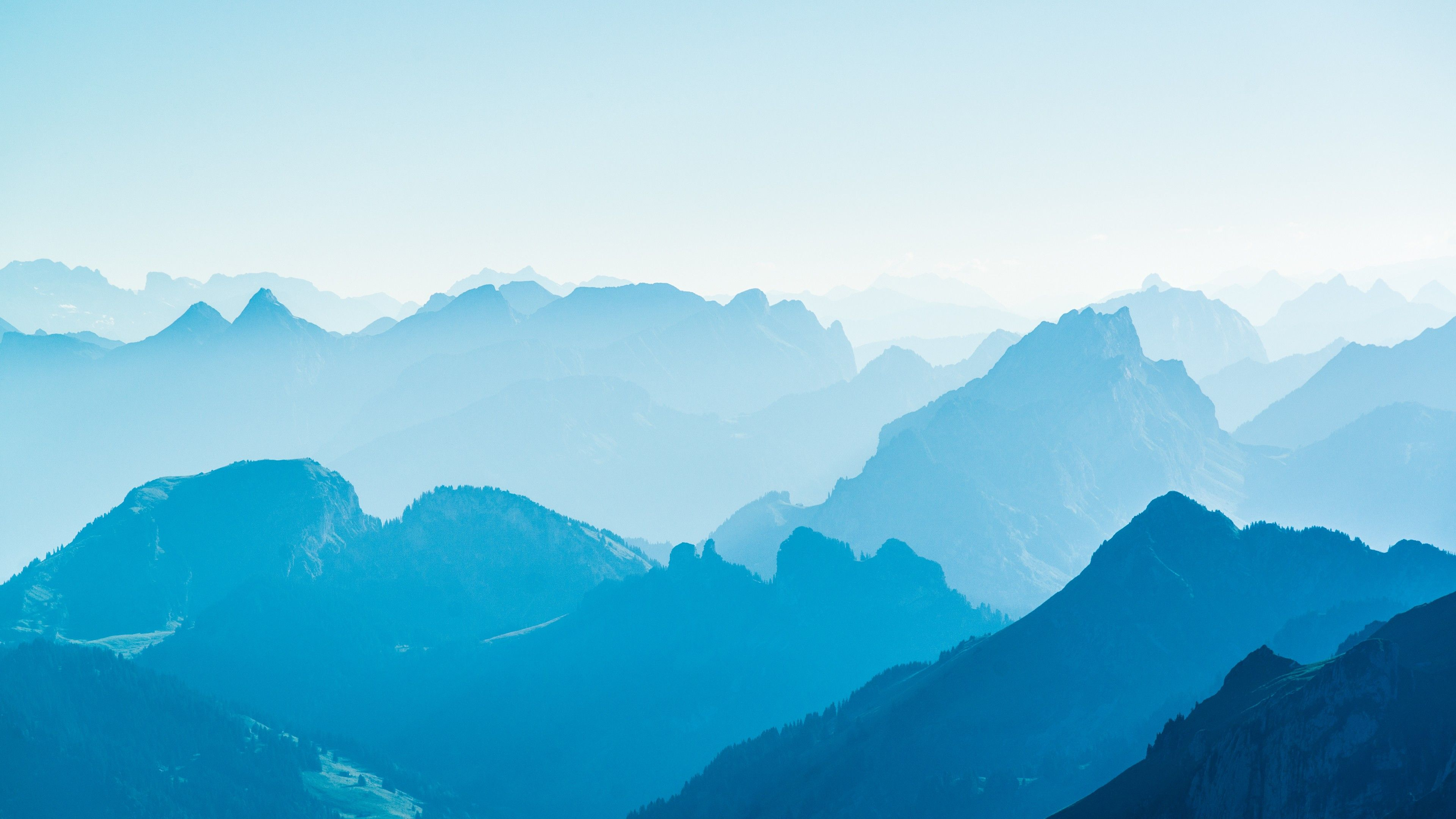 Blue Mountain Range Desktop Wallpaper Mountain Wallpaper Mountains Wallpaper Mountain Images