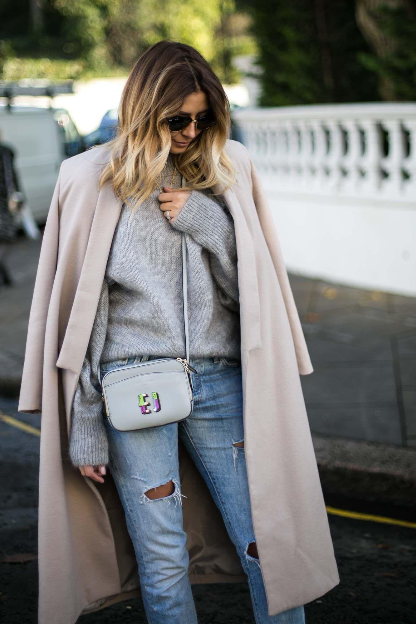 beige-shawl-winter-coat-grey-mohir-fluffy-sweater-jumper-ripped-levis-boyfriend-jeans-beige-block-heel-ankle-sock-boots-lk-bennett-x-boyarde-cross-body-bag-8