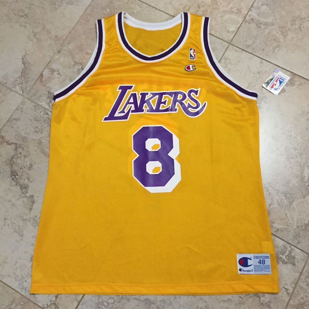 4a0542242da Doug Christie Champion Size 48 Lakers 8 Home Jersey New with Tags RARE |  eBay