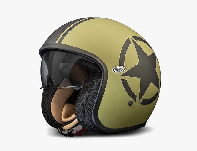 Motorcycle Helmets With Old School Looks New School Safety Vintage Helmet Cafe Racer Helmet Motorcycle Helmets