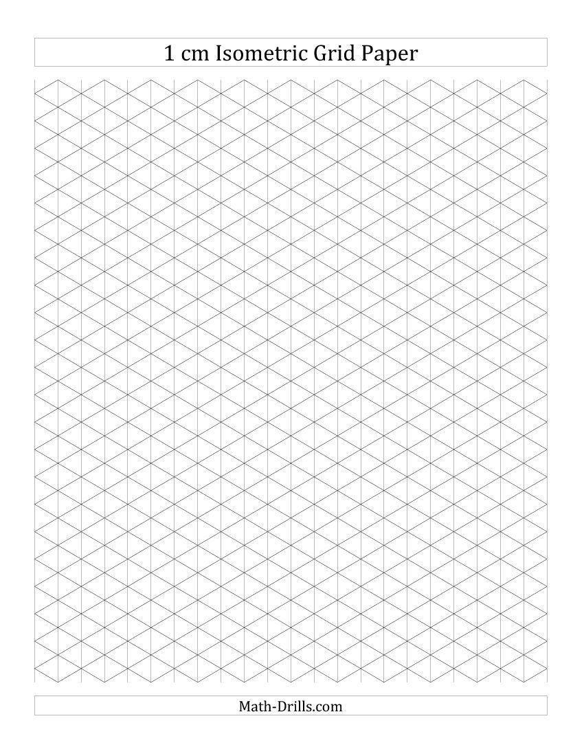 Grid Enlargement Drawing Worksheet Printable Isometric Paper Isometric Paper Isometric Grid Isometric Graph Paper