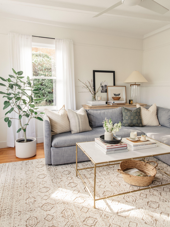Simple Coffee Table Styling Harlowe James Living Room Scandinavian Living Room Designs Room Decor