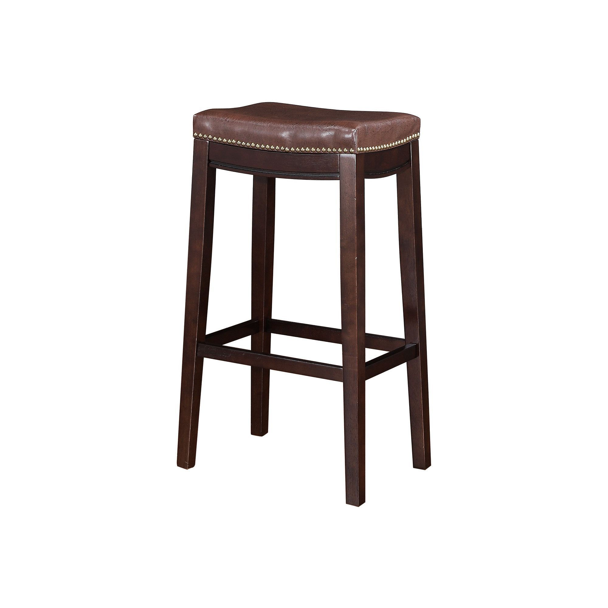Stupendous Linon Allure Bar Stool Products Black Bar Stools Andrewgaddart Wooden Chair Designs For Living Room Andrewgaddartcom