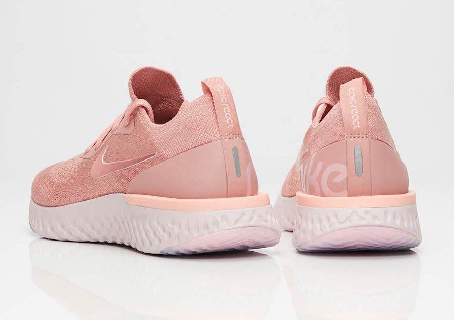 Nike Epic React Flyknit Rust Pink AQ0070 602 | Fashion