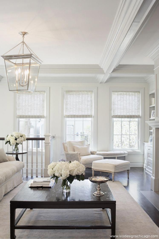 Elegant Family Room Interior Design By Leo Designs Ltd Chicago