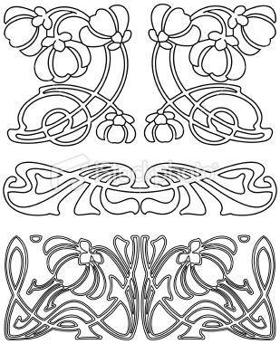 art deco design elements art deco design elements 3 vector