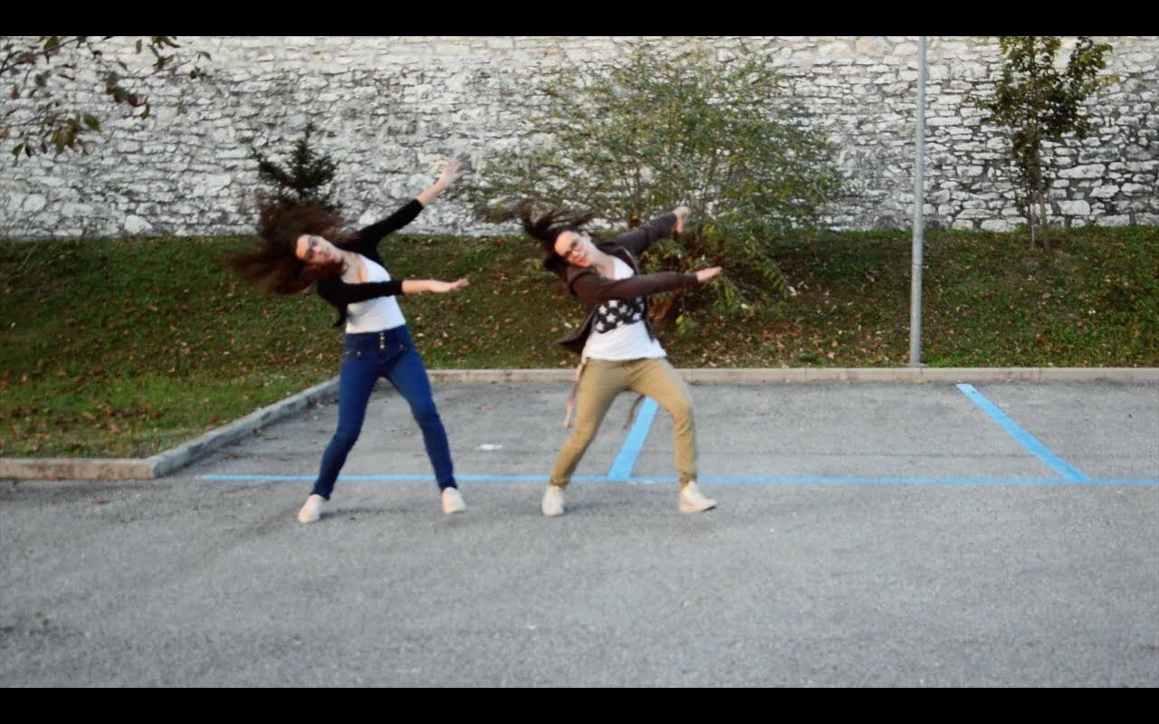 Happy dance C2C Le Sorelle Mazzola Cheer routines