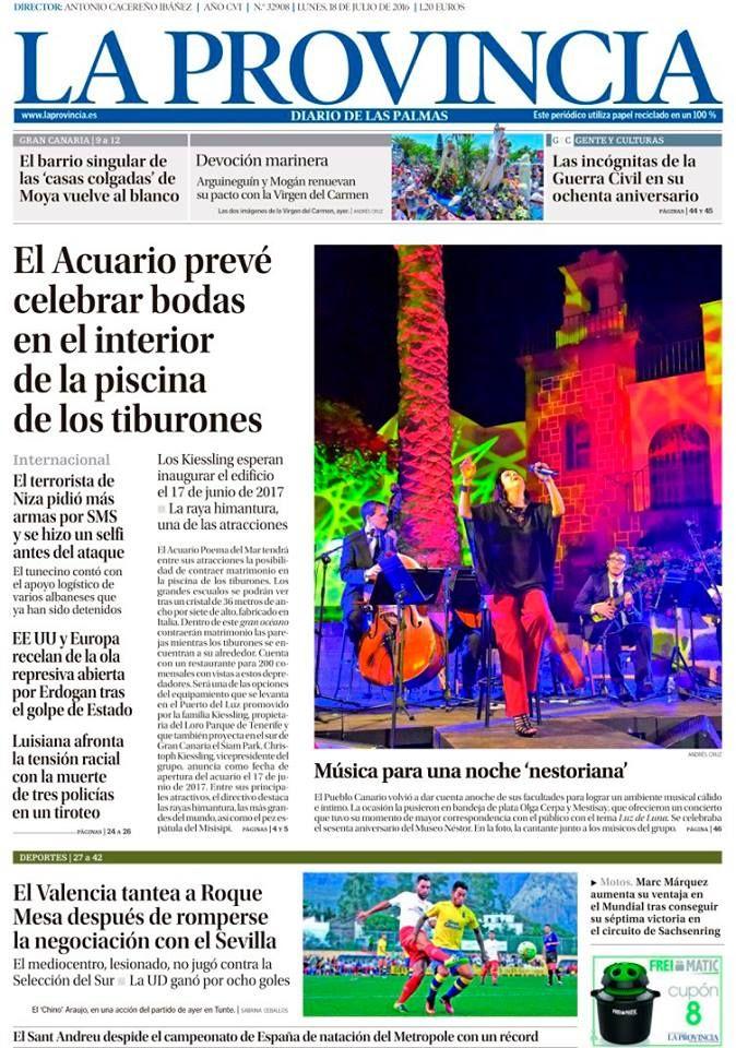 33 Ideas De Portadas De La Provincia Diario De Las Palmas Portadas Palmas Provincia