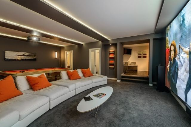Ultra Modern Home Theater Equipment And Furniture Home Theater