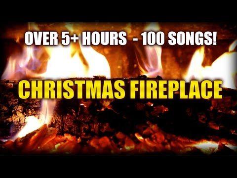 ✰ 8 HOURS ✰ CHRISTMAS MUSIC with FIREPLACE ♫ Christmas Music