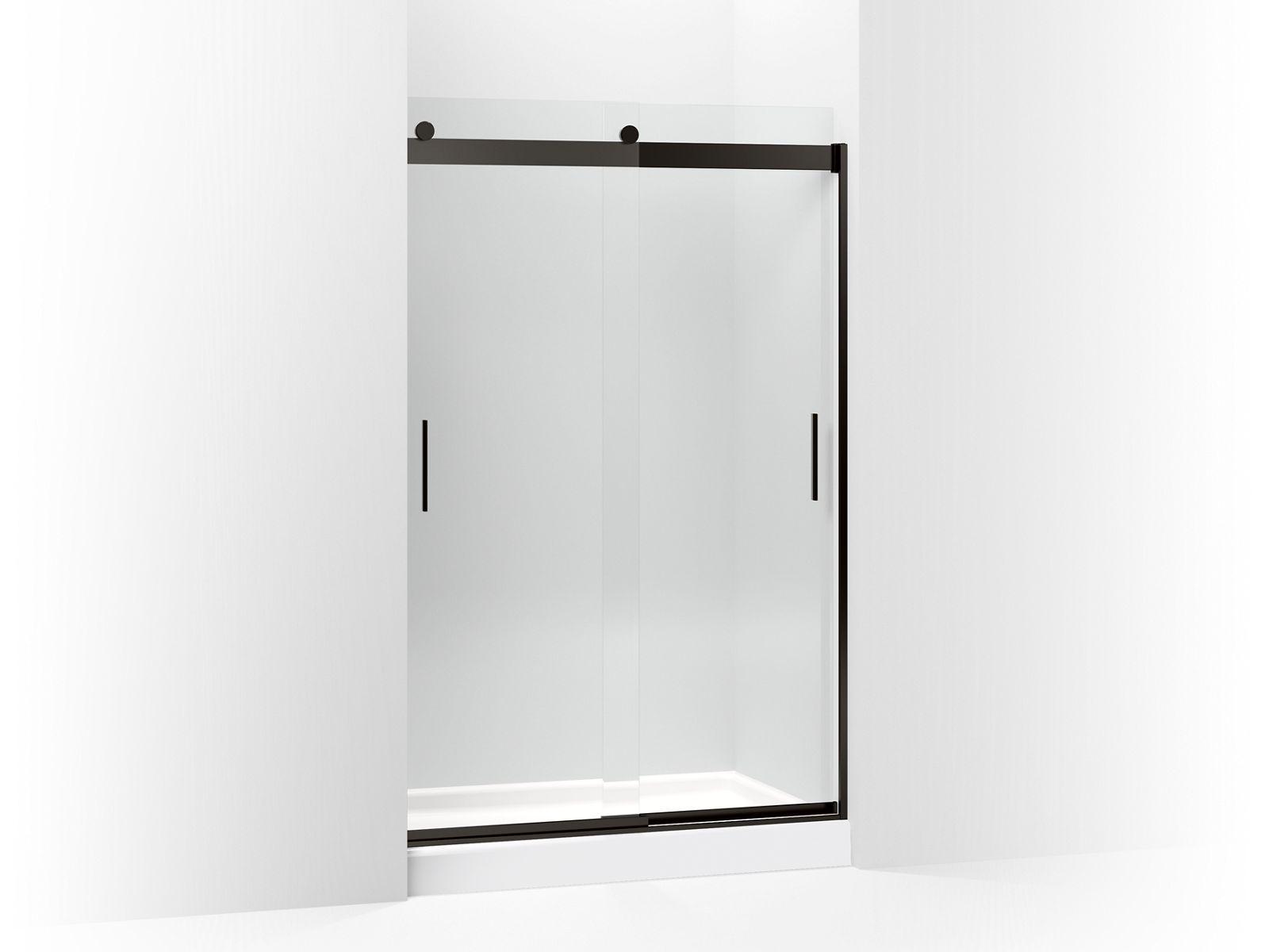Levity Frameless Sliding Shower Door K 706010 L Kohler Vermont