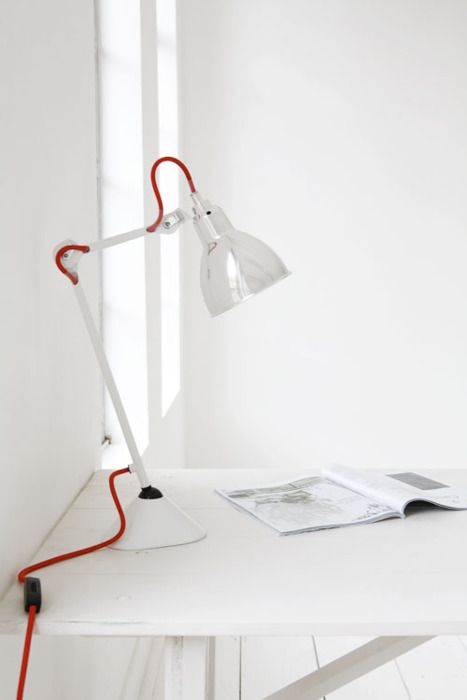 White But Red House Design Photos Interior Lamp Design