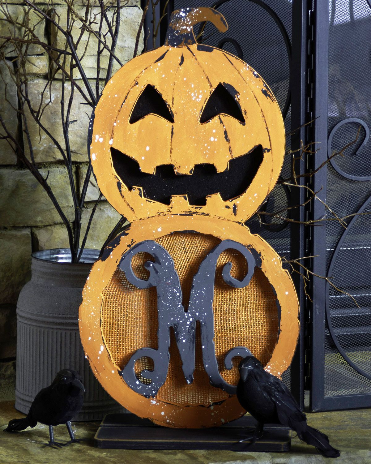 Celebrate Halloween With Our Unfinished Jack O Lantern