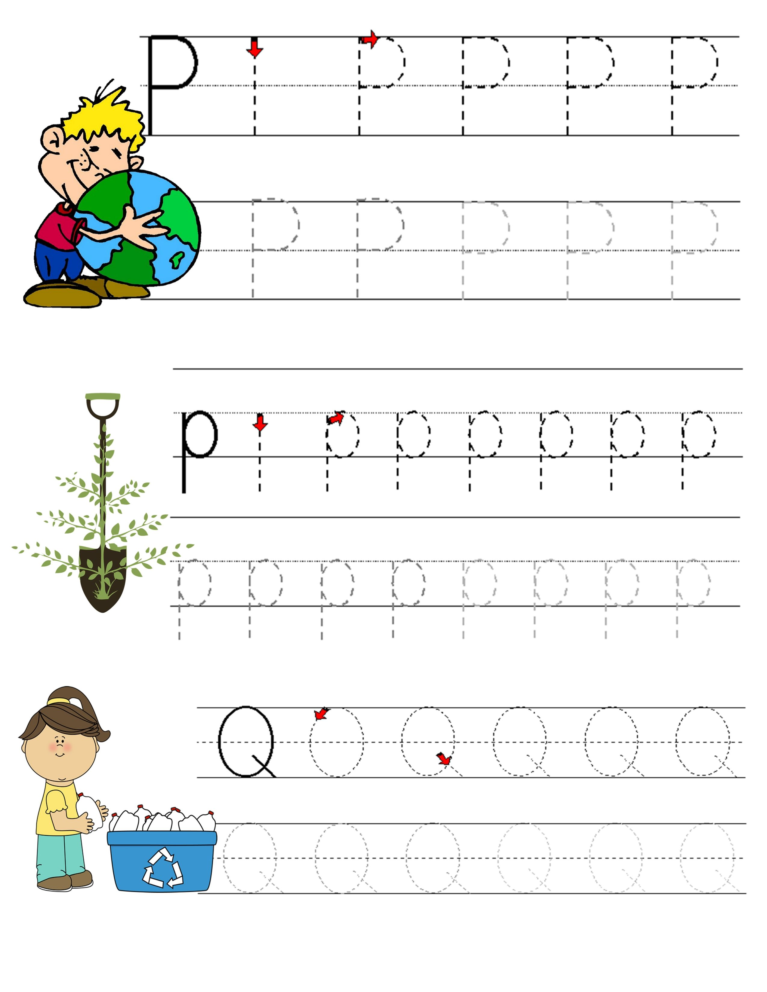 Alphabet Tracing 11 17