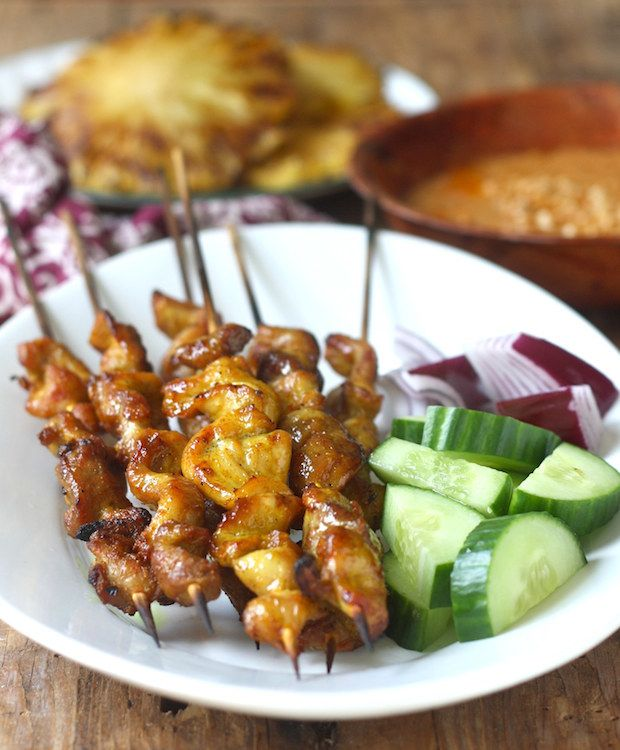 Malaysian chicken satay festival foods chicken satay and foods malaysian chicken satay forumfinder Choice Image