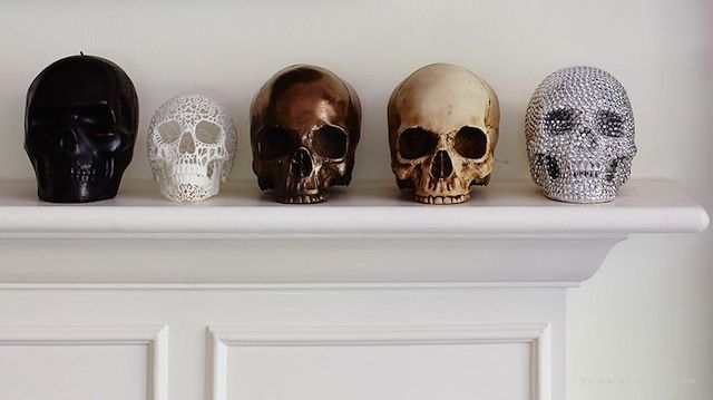 Hello Friday Gothic Home Decor Skull Decor Skull