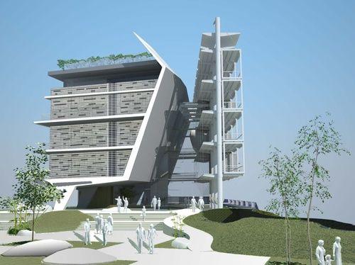 Eco Wall Geotectura Porter School Of Environmental Studies. Building DesignsEnvironmental  ...