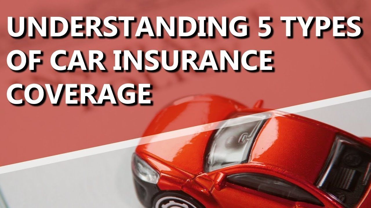 Understanding 5 Types Of Car Insurance Coverage Seguro De Automovel
