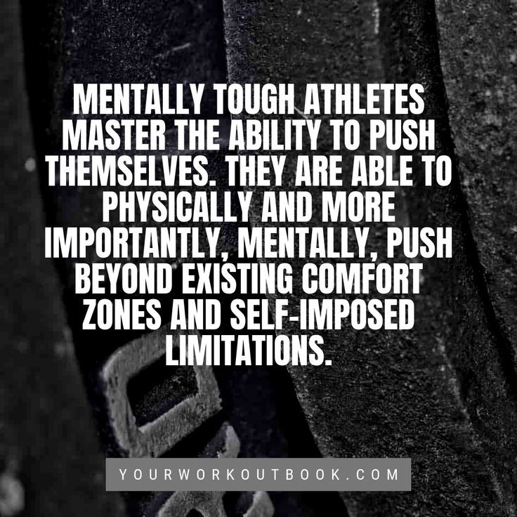 How to Be a Mentally Tough Athlete