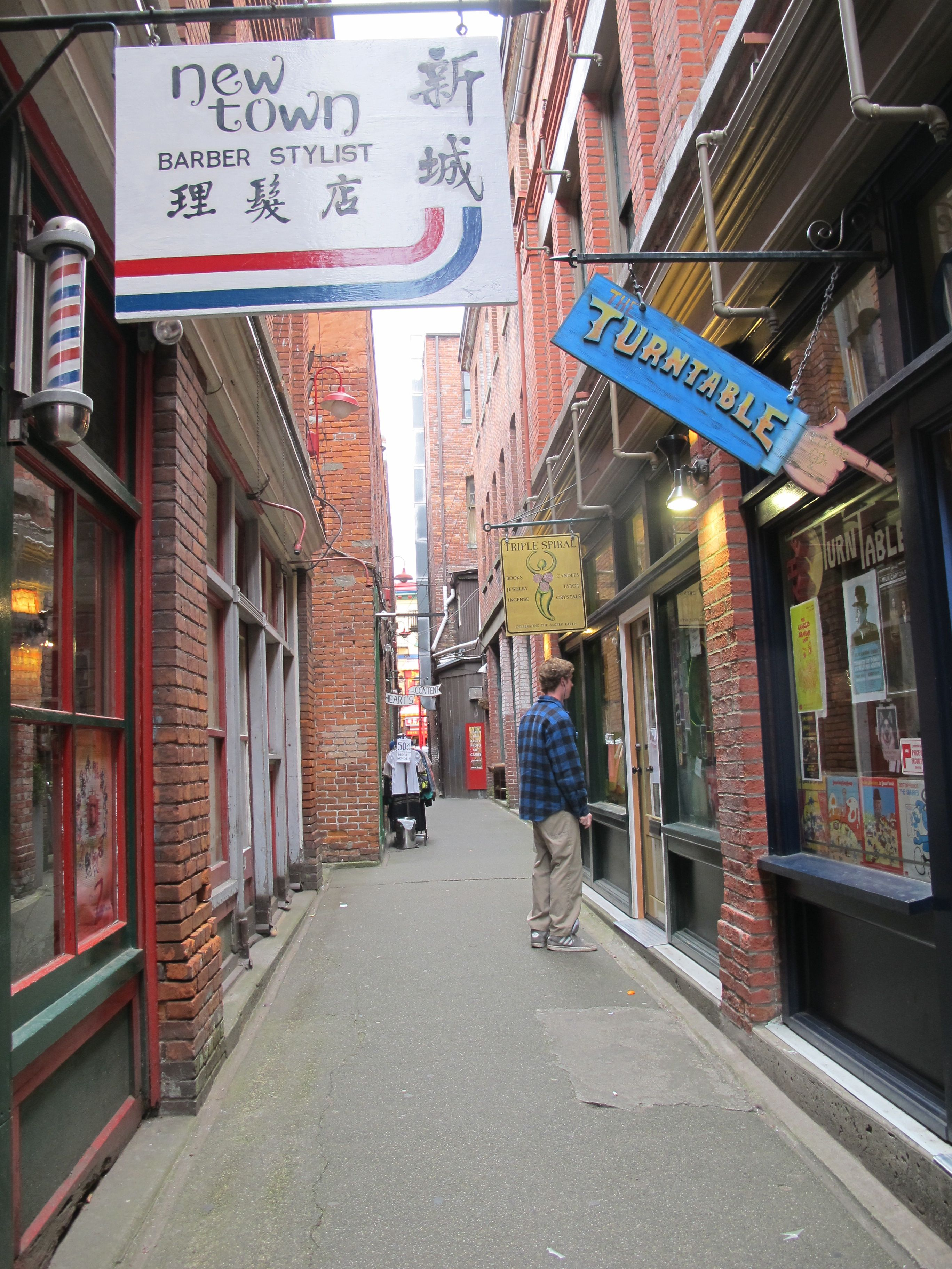 Fan Tan Alley is an alley in Victoria, British Columbia's