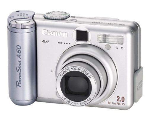 Canon Powershot A60 2mp Digital Camera With 3x Optical Zoom By Canon 259 99 Amazon Com Featuring Best Digital Camera Digital Camera Powershot