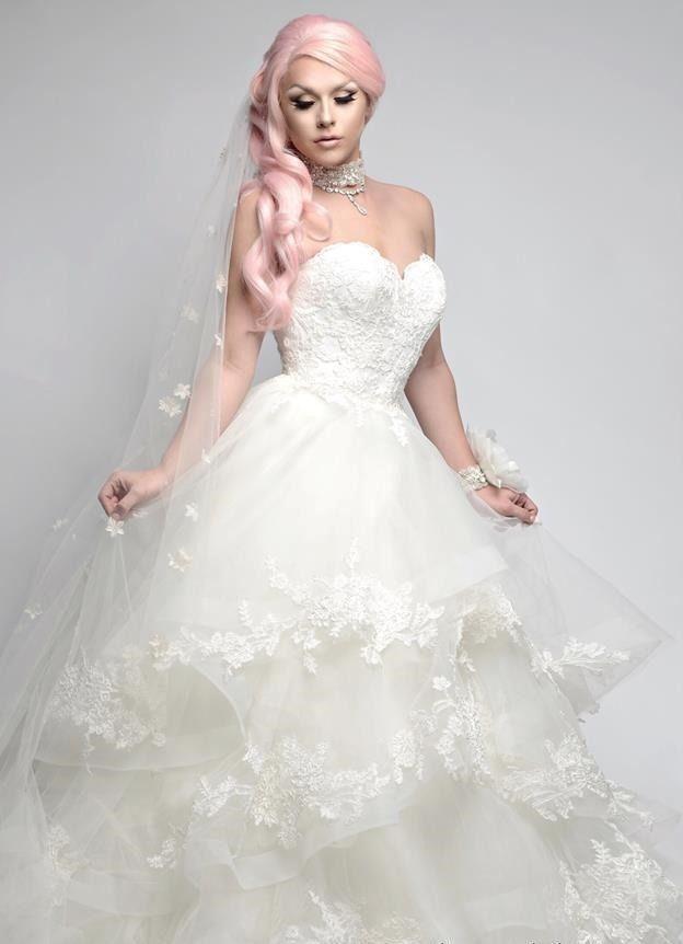 Farrah Moan Bridal Lingerie, Farrah Moan, Drag Queens, Gender, Las Vegas,