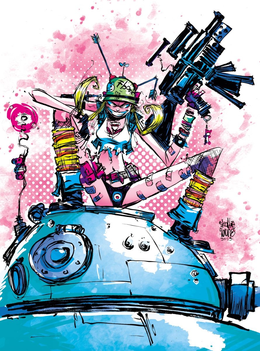 Tank girl picture — photo 10